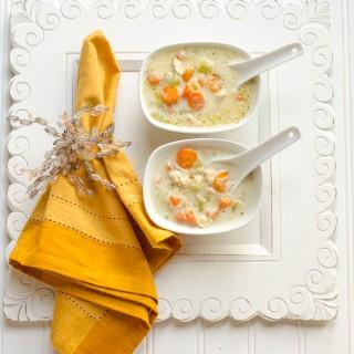Creamy Chicken Soup… and 7 Ways to Ensure You Will Be Miserable