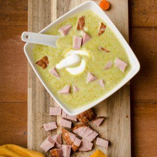 Crockpot Ham and Pea Soup