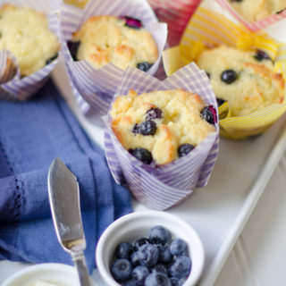 Blueberry Muffins…And Fathers, the good, the bad, and the ugly