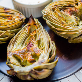Grilled Artichoke with Aioli…And What Could Sinus Infections Have In Common With Cancer?