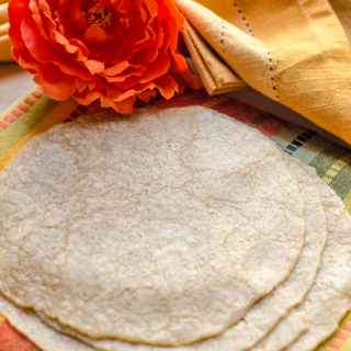Homemade Tortillas…And Falling Off The Wagon