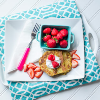 Healthier French Toast …And Burning the Candle at Both Ends