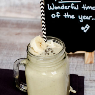 Back To School Almond Butter Smoothie