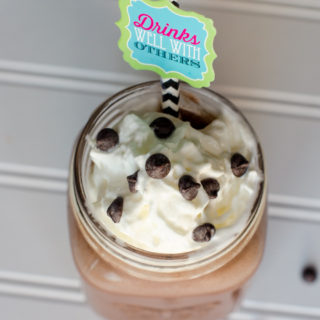 Another Back to School Smoothie….Almost Too Good To Be True Chocolate Smoothie