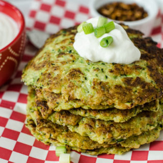 Spicy Zucchini Fritters